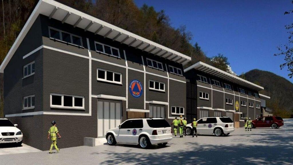 Soccorso Alpino e Protezione Civile di Agordo - Progetto di fattibilità tecnico/economico SIIS